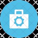 Gear Bag Cog Icon