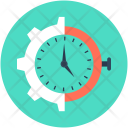 Gear Timer Time Icon