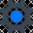 Gear Setting Cog Icon