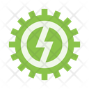 Gear Electricity Icon