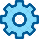 Gear Setting Interface Icon