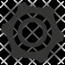 Settings Gear Engine Icon