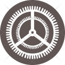 Gear Setting Operating Icon