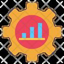 Gear Graph Service Icon