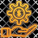 Gear Setting Dollar Icon
