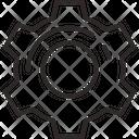Gear Cogwheel Settings Icon