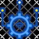 Gear Industrial Internet Icon
