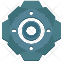 Complex Gear Mechanism Icon