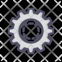 Gear Cog Settings Icon