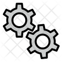 Gear Tool Settings Icon
