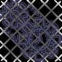 Gear Management Cogwheel Icon