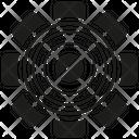 Gear Cog Setting Icon