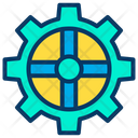 Gear Wheel Wheel Cog Icon