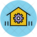 Gear Home House Icon