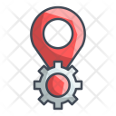 Gear Pin Location Icon