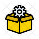 Box Gear Delivery Icon