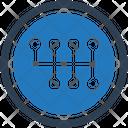 Gear Lever Gear Stick Icon