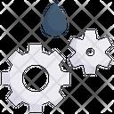 Gear Oil Icon