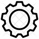 Cog Gear Settings Icon