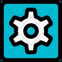 Gear Square Icon