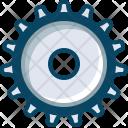 Gears Engineering Mechanism Icon