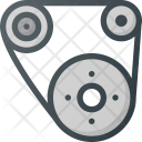 Gears Gear Component Icon