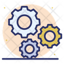 Gears Configuration Settings Icon