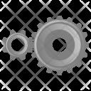 Gears Mechanism Settings Icon