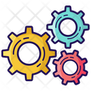 Gears Cog Wheels Maintenance Icon