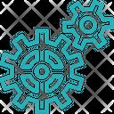 Gears Settings Cog Icon