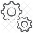 Gears Setting Repair Icon