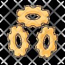 Gears Mechanics Spares Icon