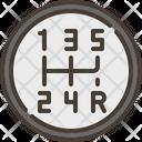 Gearshift Car Gear Drive Icon