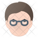 Geek Glases Avatar Icon