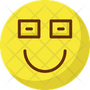 Emoticons Geek Glasses Icon