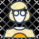 Geek Woman Avatar Icon