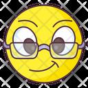 Geek Emoji Icon