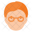 Geek Glases People Icon