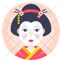 Avatar Geisha Japanese Icon