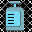 Gel Bottle Soap Washing Icon