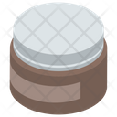Hair Gel Gel Jar Cosmetic Icon