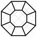 Gem Diamond Ruby Icon