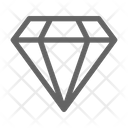 Gem Ruby Diamond Icon