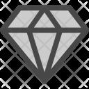 Gem Diamond Jewelry Icon