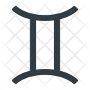 Gemini Astrology Zodiac Icon