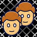 Gemini Twins Guy Icon