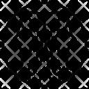 Gemini Shapes Symbols Icon