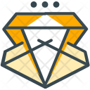 Gem Diamond Premium Icon