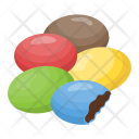 Chocolate Candy Coated Icon