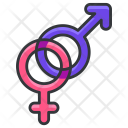 Sexual Gender Sign Icon